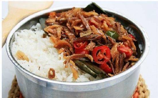 Resep Cara Membuat Nasi Liwet Teri Medan Rice Cooker