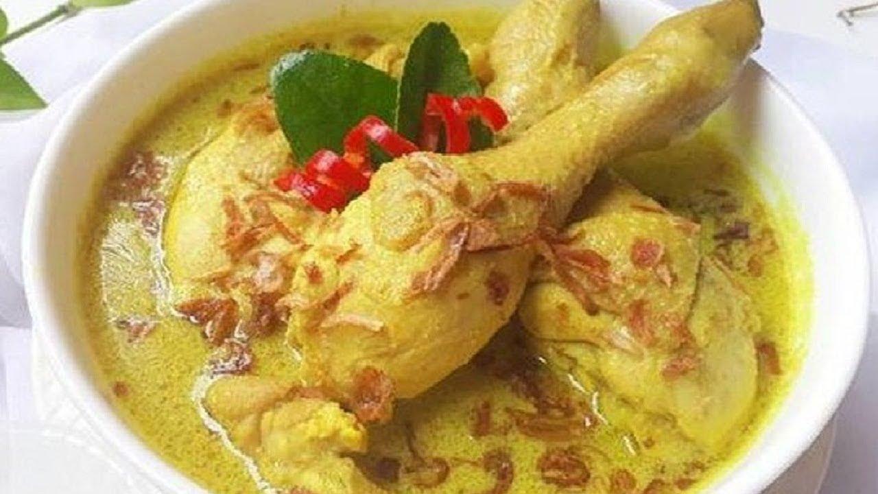 Cara Masak Opor Ayam Bumbu Kuning