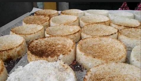 Cara Membuat Kue Sagon Ketan Khas Wonosobo