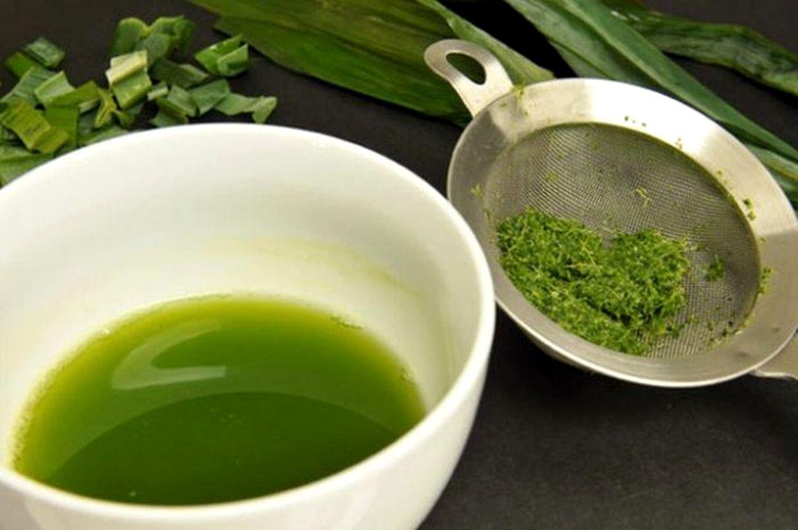 air daun pandan untuk pewarna makanan