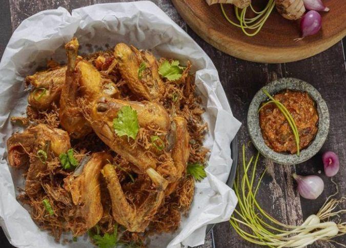 Resep Ayam Bumbu Kelapa Ala Restoran