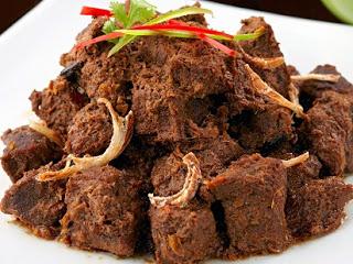 Resep Rendang Daging Sapi Kering Rasa Restoran