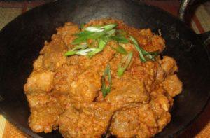 resep rendang daging sapi kering